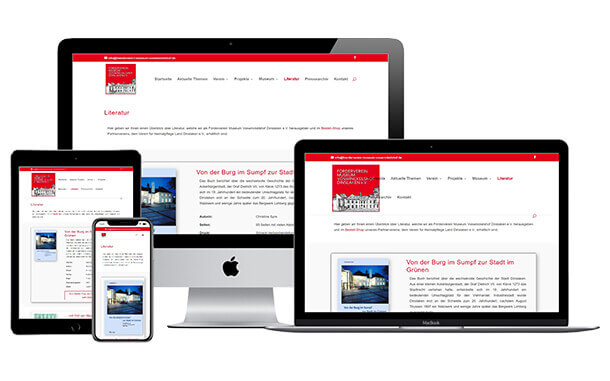 Einrichtung einer eigenen Website beschlossen