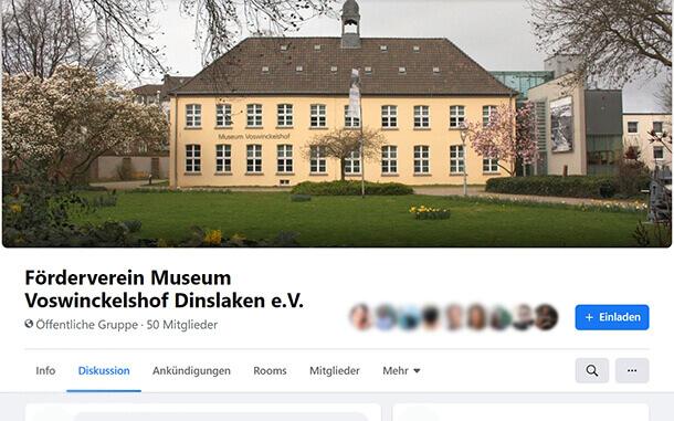 Einrichtung einer eigenen Facebook-Gruppeam 06.01.2020