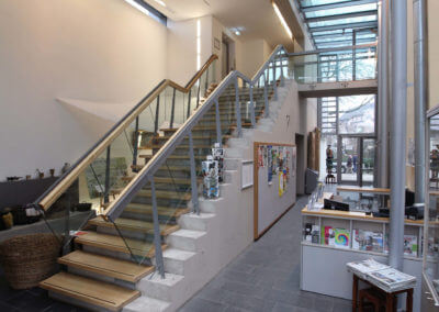 Museum Voswinckelshof - Foyer - Eingang - fotografiert von Martin Büttner