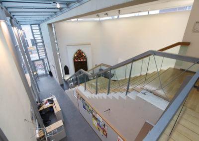 Museum Voswinckelshof - Foyer - Totale von oben - fotografiert von Martin Büttner