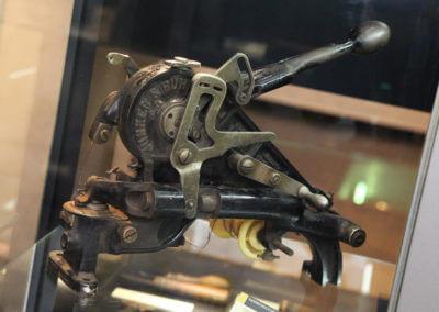 Museum Voswinckelshof - Schuhmacher - Rahmennähmaschine - fotografiert von Martin Büttner