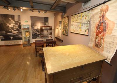 Museum Voswinckelshof - Schule - Klassenraum - fotografiert von Martin Büttner