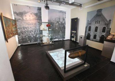 Museum Voswinckelshof - Weltkriege mit Projektion - fotografiert von Martin Büttner