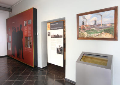 Museum Voswinckelshof - Zeche Lohberg - Ölbild - fotografiert von Martin Büttner