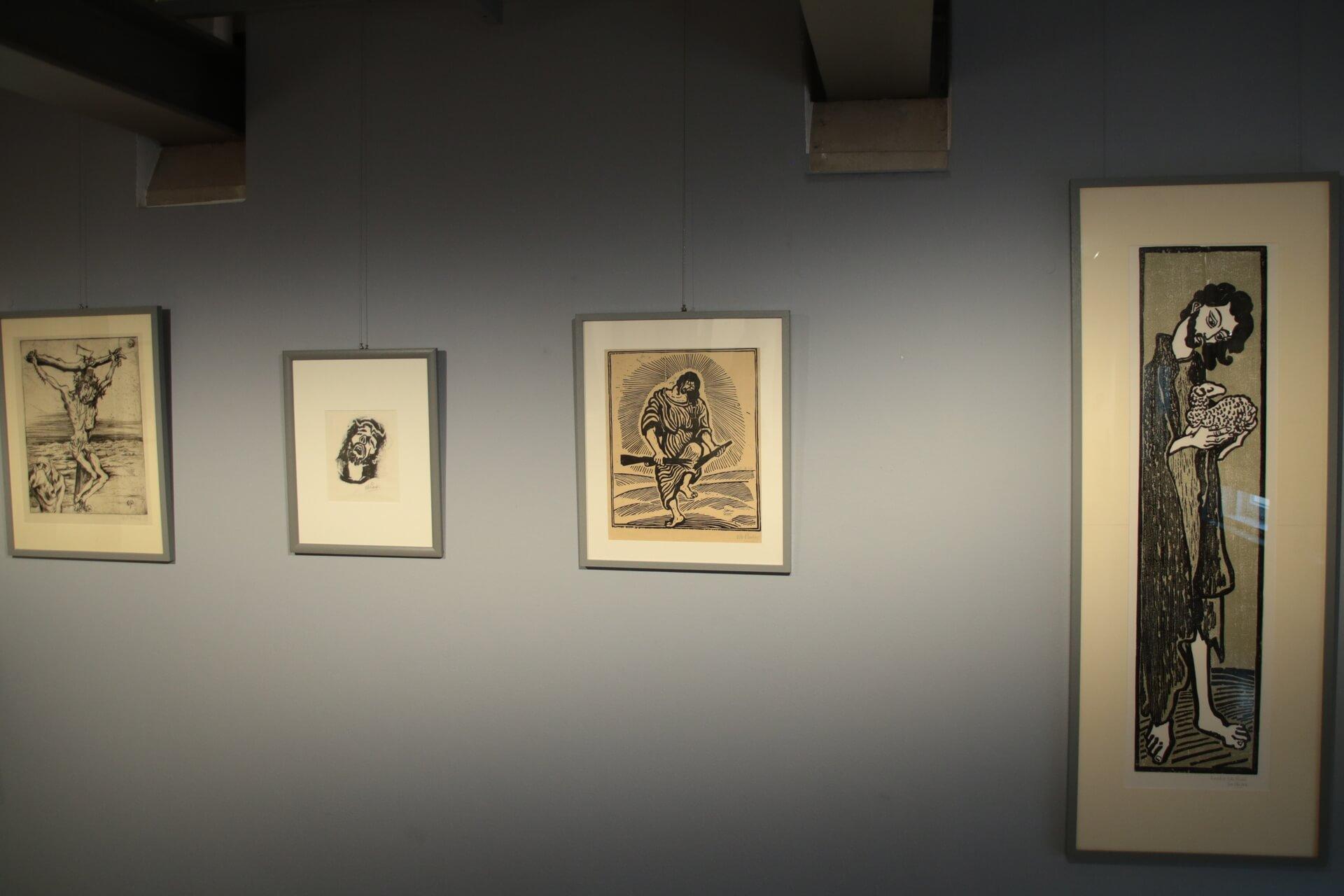 Otto Pankok Ausstellung - fotografiert von Frank Kotte - Bild 1
