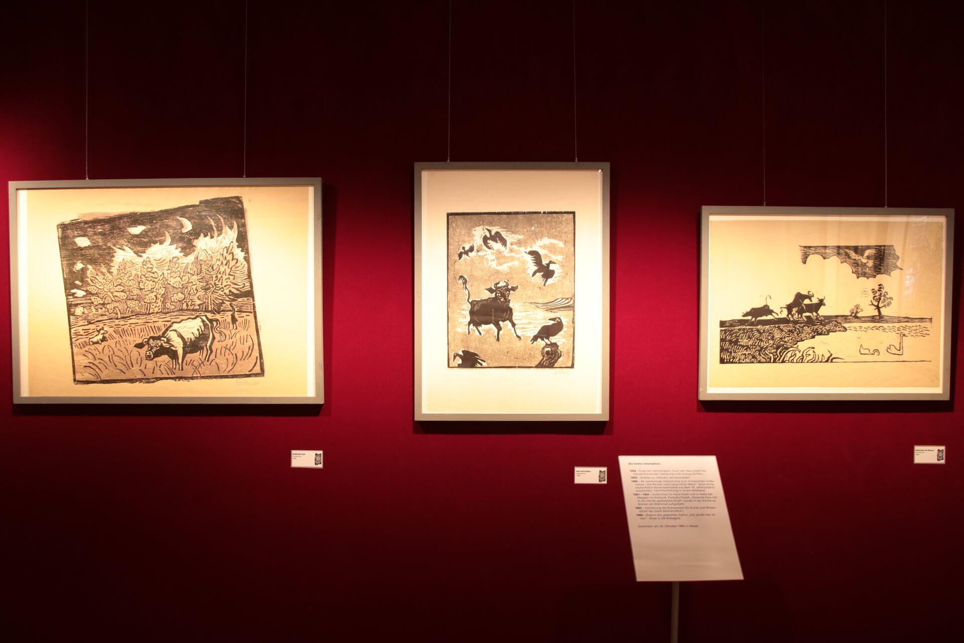 Otto Pankok Ausstellung - fotografiert von Frank Kotte - Bild 5