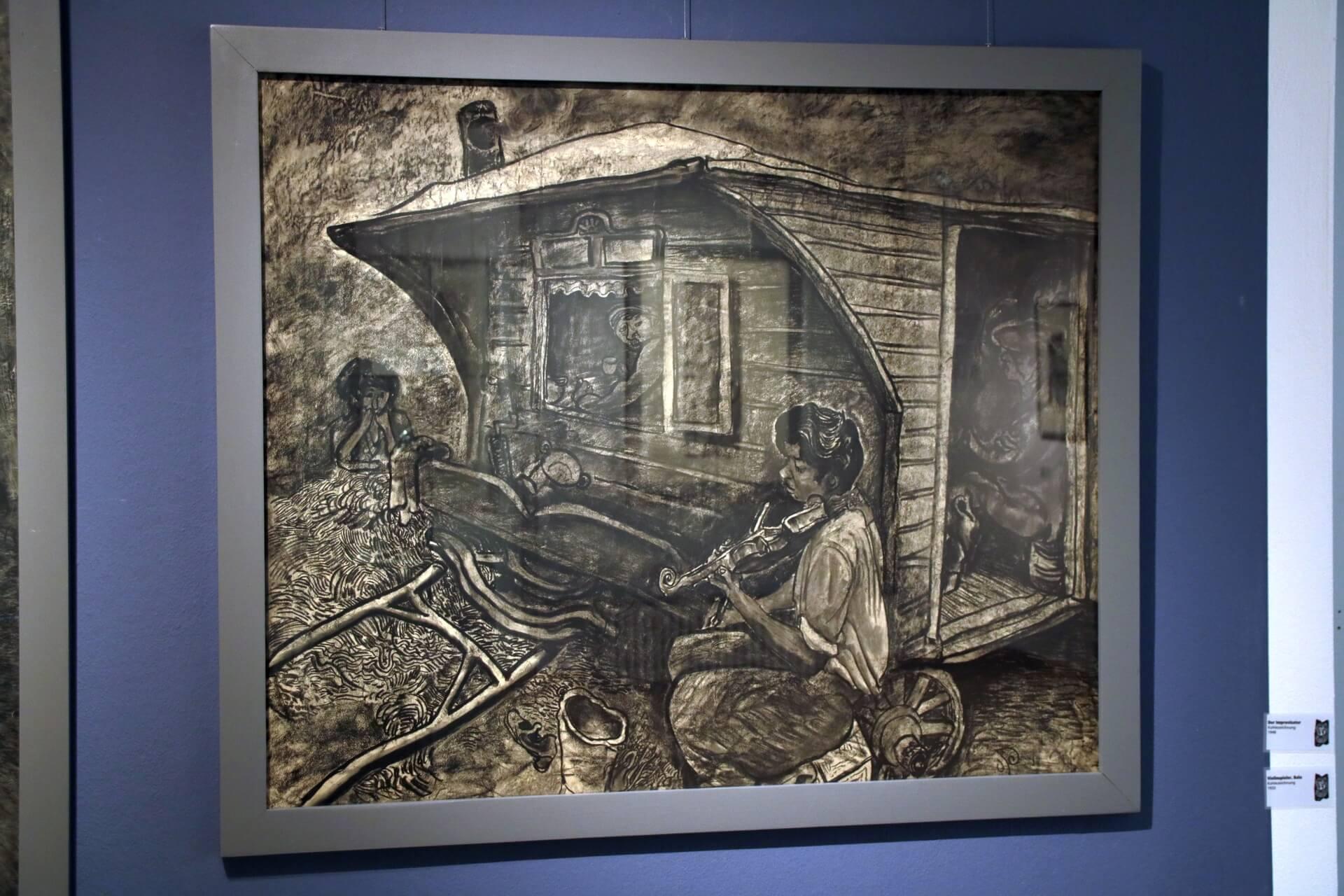Otto Pankok Ausstellung - fotografiert von Frank Kotte - Bild 6