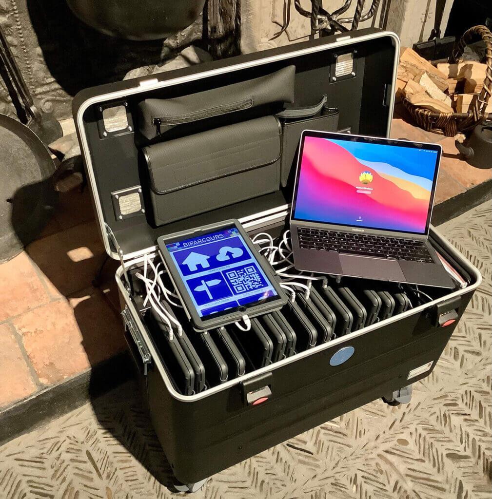 16 Apple IPAD's mit Koffer für Klassenführungen - Bild 1