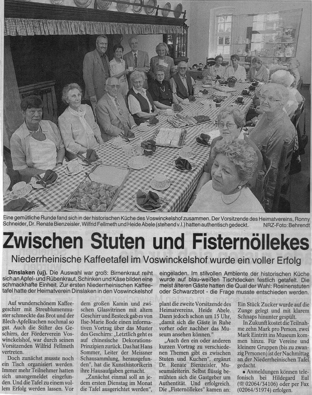 NRZ Zwischen Stuten und Fisternöllekes 27.04.2000