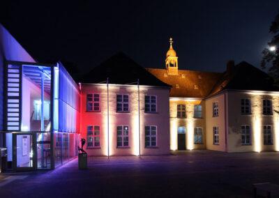 Museum Voswinckelshof bei Nacht - fotografiert von Martin Büttner