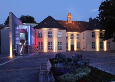 Museum Voswinckelshof in der Dämmerung - fotografiert von Martin Büttner
